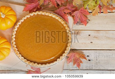 Fall Pumpkin Pie