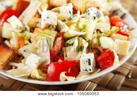 Blue Cheese And Tomatos Salad
