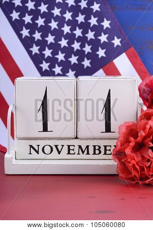 Veterans Day Calendar For November 11