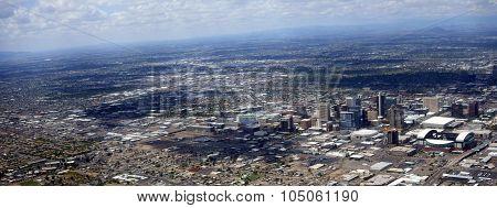 Panorama of Phoenix Downtown, Arizona