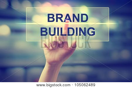 Hand Pressing Brand Building