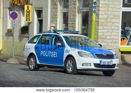 Tallinn City Municipal Police