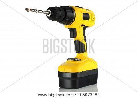 Drill, Screwdriver, Battery