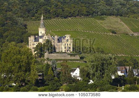 Bad Hoenningen (germany) - Castle Arenfels
