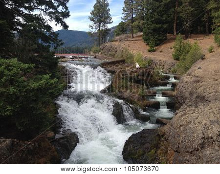 Wenatchee Waterfalls