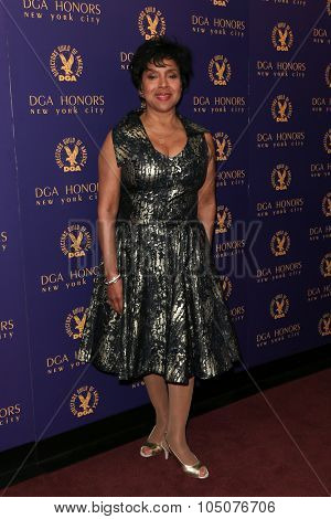 NEW YORK-OCT 15: Actress Phylicia Rashad attends the DGA Honors Gala 2015 at the DGA Theater on October 15, 2015 in New York City.