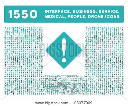 Problem Icon and More Interface, Business, Tools, People, Medical, Awards Flat Glyph Icons