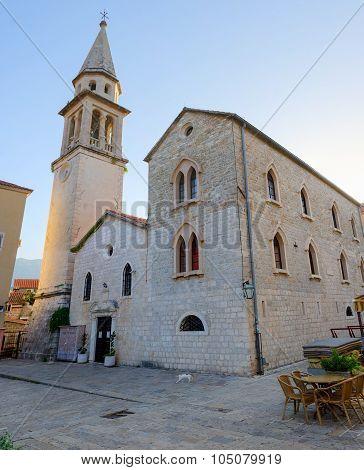 Cathedral Of St. John The Baptist, Budva, Montenegro