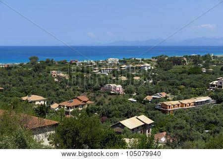 Lefkada Landscape, Ionian Islands, Greece