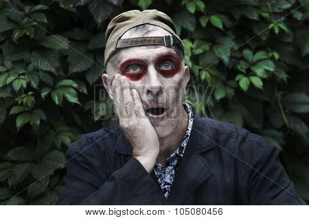 Man With A Face Paint