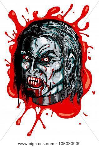 Vampire's head