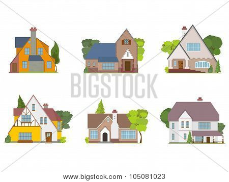 town houses and cottages