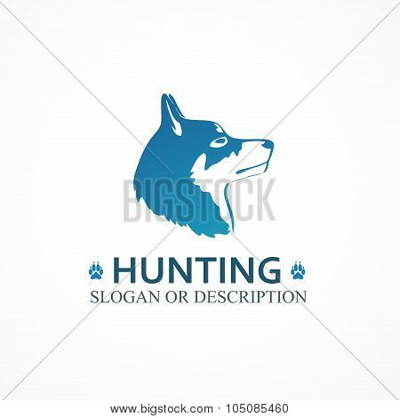 Logo Of Hunting Dog