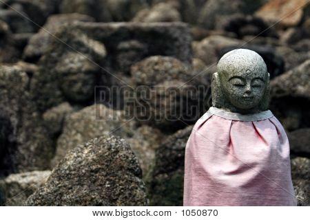 Jizo In The Rocks