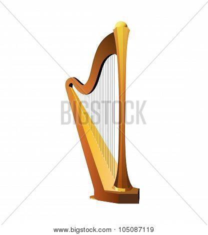 Traditional Celtic Harp
