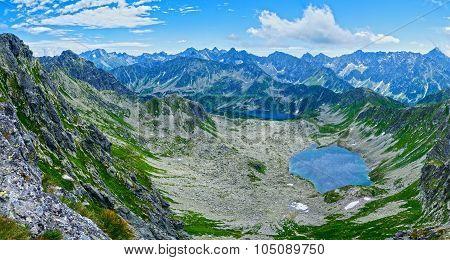 Summer Tatra Mountain Panorama, Poland