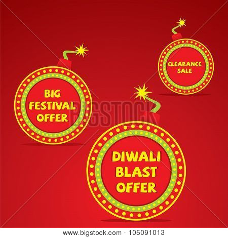 Diwali shopping sale  banner design