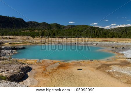 Wall Pool At Biscuit Basin, Yellowstone National Park