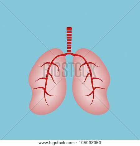 Human Lungs.world Asthma Day
