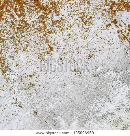 Old boat white hull background texture