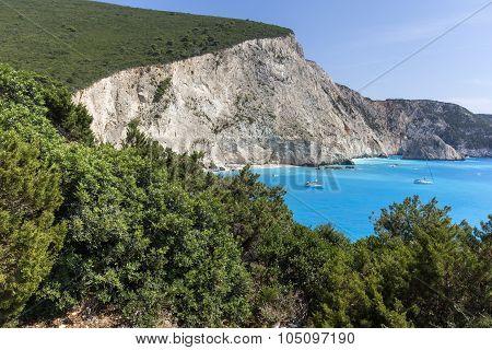 Porto Katsiki Beach, Lefkada, Ionian Islands