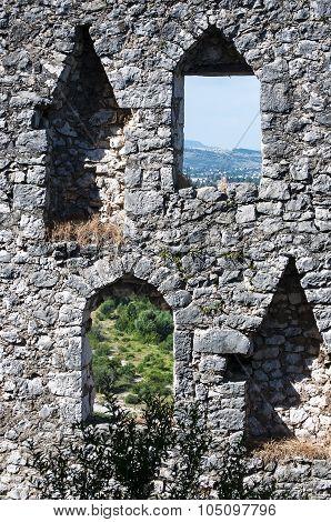 Old City Pocitelj Fortress Walls
