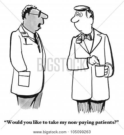 Non-Paying Patients