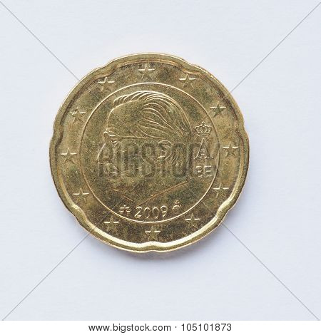 Belgian 20 Cent Coin
