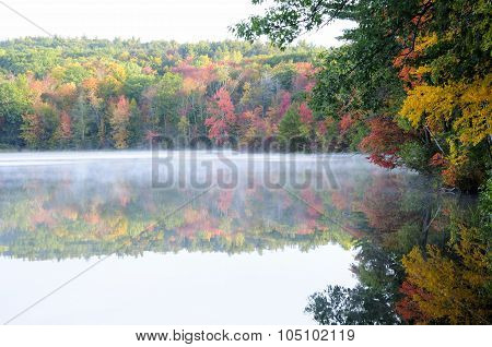 Misty Waters of Burr Pond
