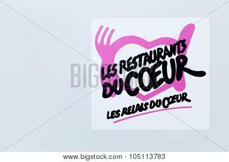 Restaurants du Coeur logo