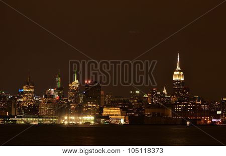 New Jersey view of New York City
