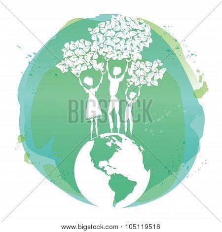 Family For Green World.