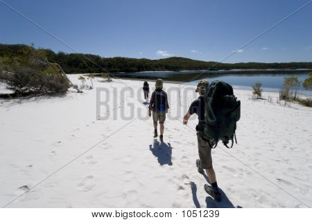 Three Hikers In Australia 1