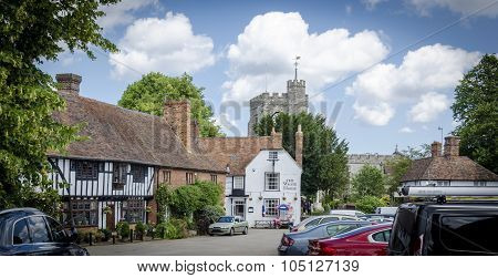 The Pretty Village Of Chilham
