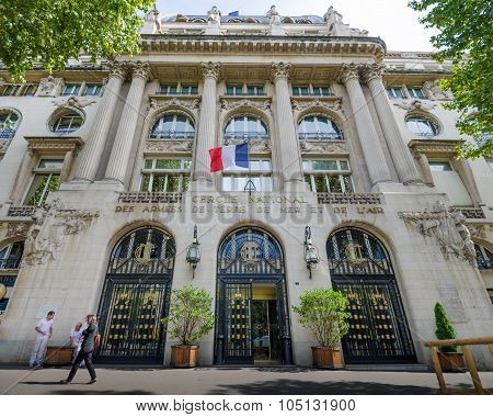 National Officers Club of the Armies in Paris