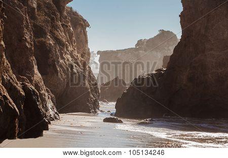 El Matador State Beach, Malibu, California.