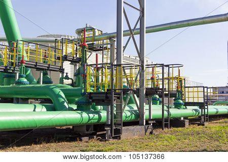 Industrial Green Tube