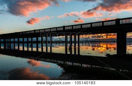 Trestle Bridge Sunrise