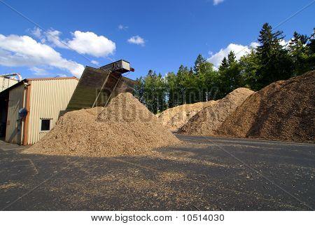 Storage Of Wooden Fuel