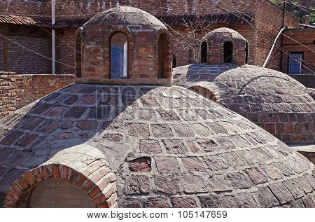 Abanotubani - Hot Sulfur Baths District In Old Tbilisi.