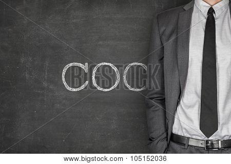 COC on blackboard