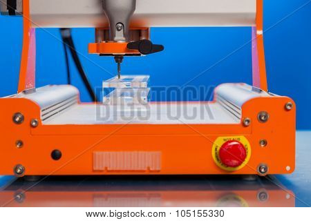 coordinate milling CNC machine for processing plastics