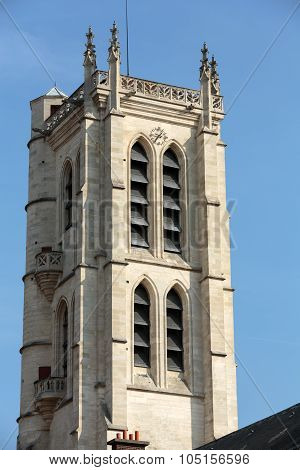 Paris - Clovis bell tower. Henry IV High School Public Secondary School Located in Paris