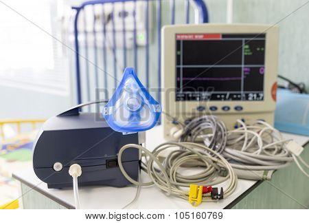 Inhaler In A Clinic