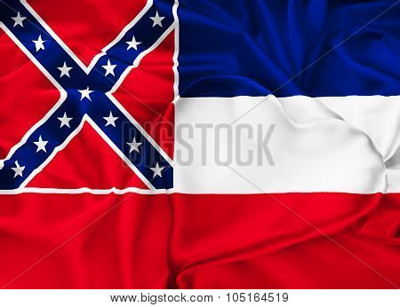 State Flag Of Mississippi