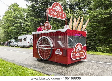 Banette Vehicle - Tour De France 2014