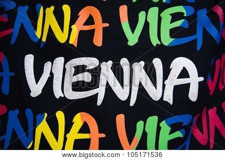 Vienna Souvenir Colourful Background