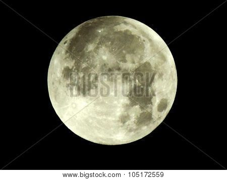 Supermoon Of 27-28 September 2015.