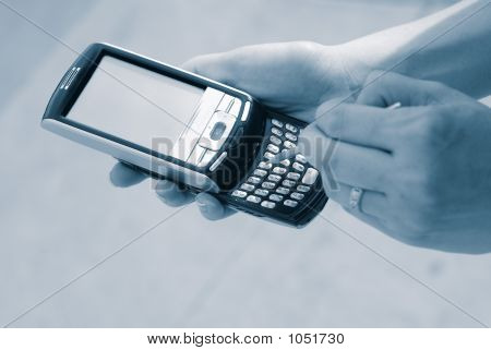 Texting With Pda Phone