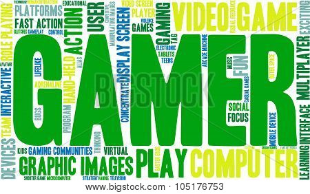Gamer Word Cloud